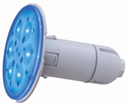 LED RGB barevné světlo Adagio 50 W, svítivost 1700 lm, 10 cm